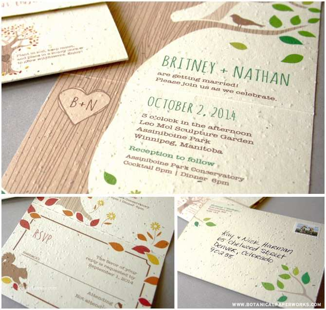 Seal and Send Wedding Invitations Rustic Seal and Send Wedding Invitations
