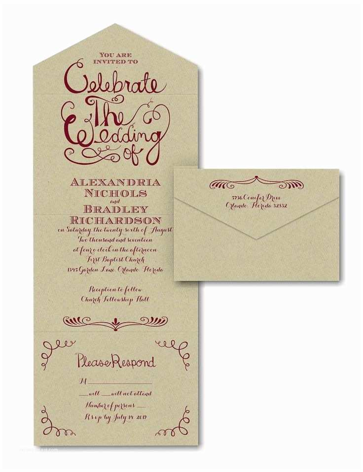 Seal and Send Wedding Invitations Seal and Send Wedding Invitations – Mini Bridal