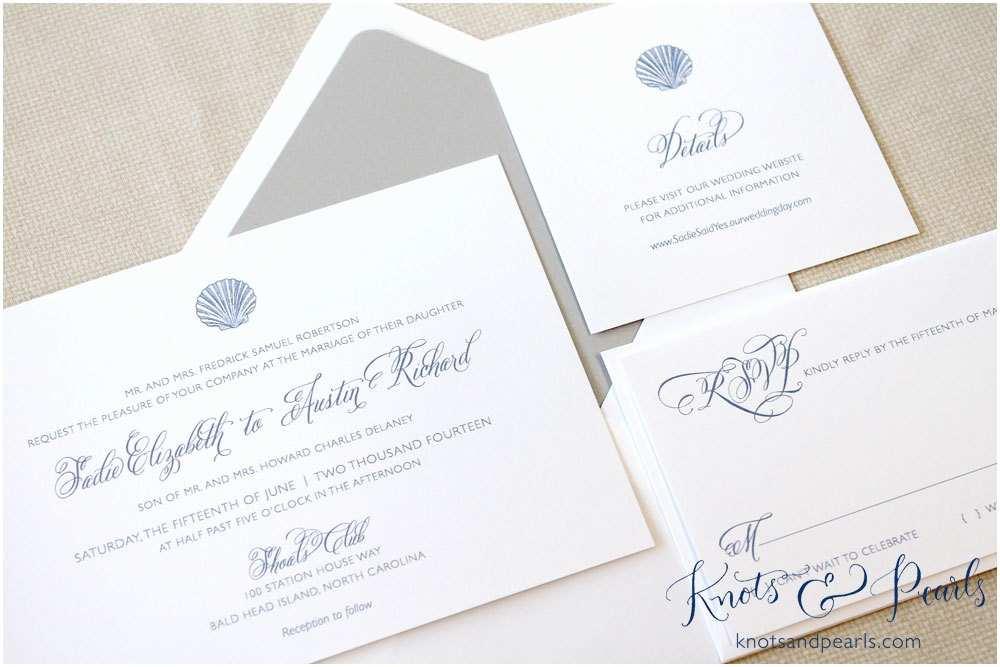 Seashell Wedding Invitations Seashell Wedding Invitations Shell Wedding Invitations Beach