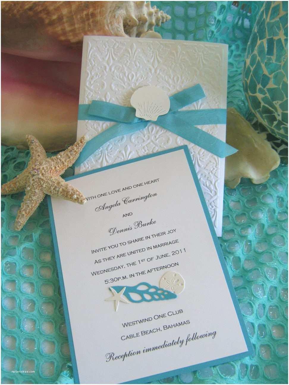 Seashell Wedding Invitations Wedding Invitation Templates Seashell Wedding Invitations