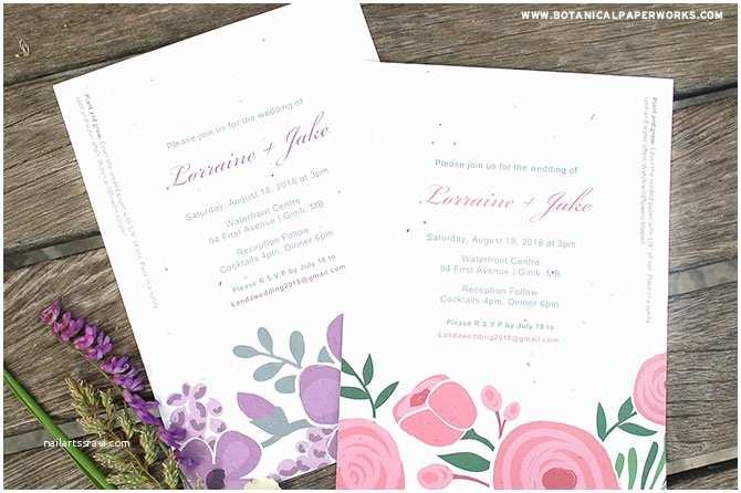 Seed Wedding Invitations Love Grows Seed Invitation Nailartssravi