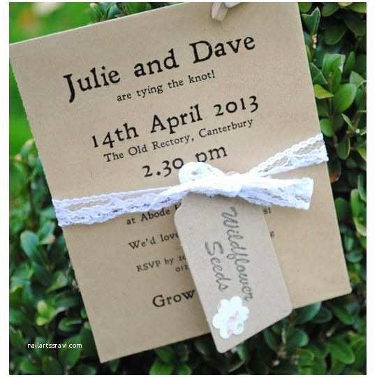 Seed Wedding Invitations Seed Packet Wedding Invitation Runs 97  For