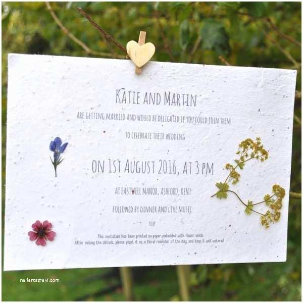 Seed Wedding S Seed Paper Wedding