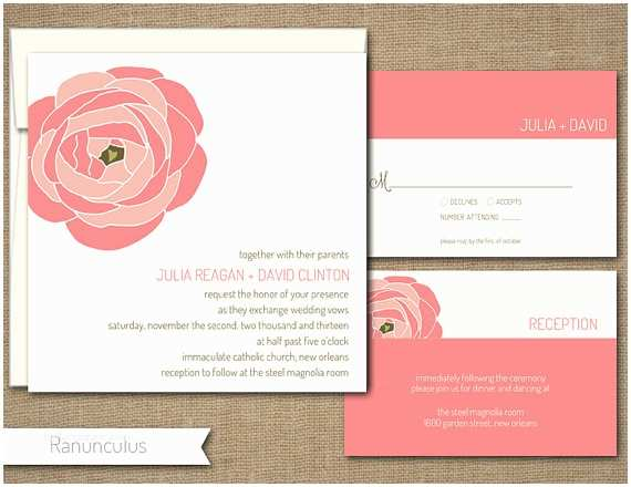 Self Made Wedding Invitations Items Similar to Custom Self Print Wedding Invitations