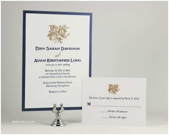 Self Made Wedding Invitations Printable Vintage Wedding Invitations Bouquet by