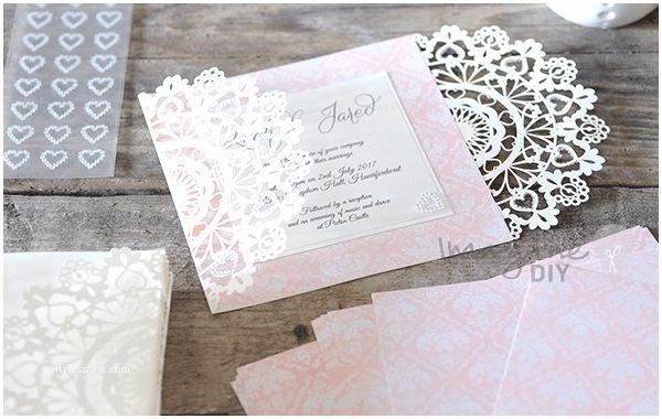 Self Made Wedding Invitations Self Adhesive Crystal Hearts Sheet Of 27