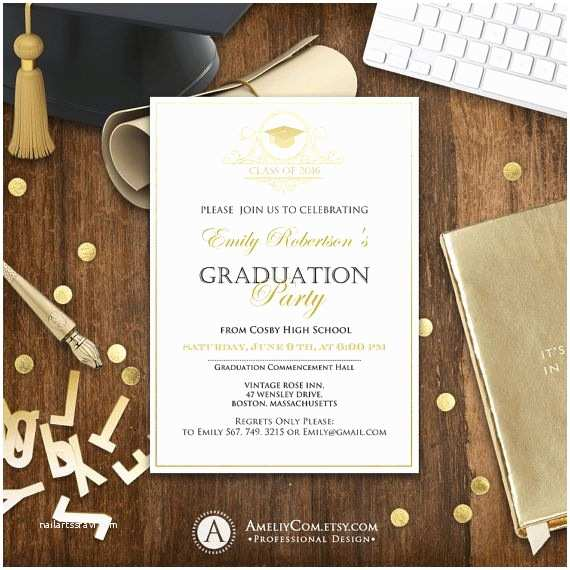 Senior Graduation Invitations 1000 Ideas About High School Graduation Announcements On