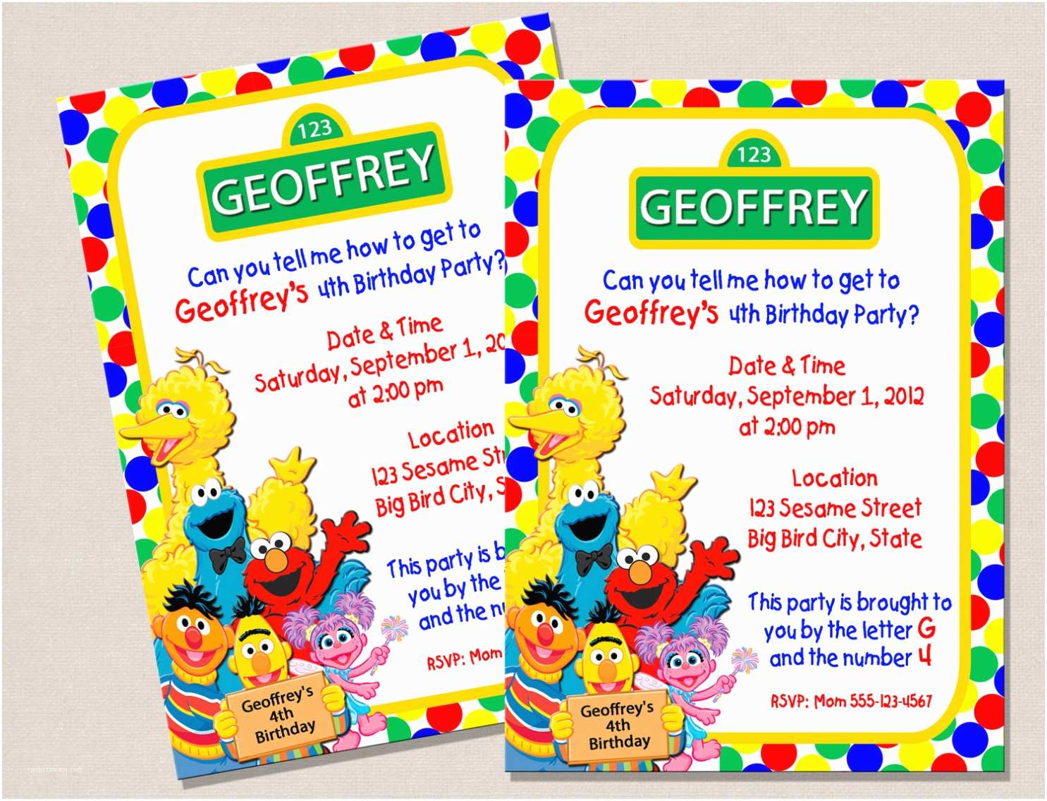 Sesame Street Party S  Templates Nz Image Collections
