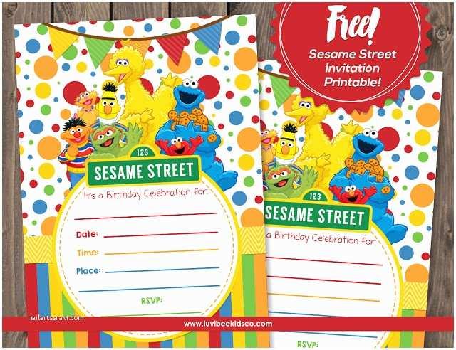 Sesame Street Party S Sesame Street Free Printable