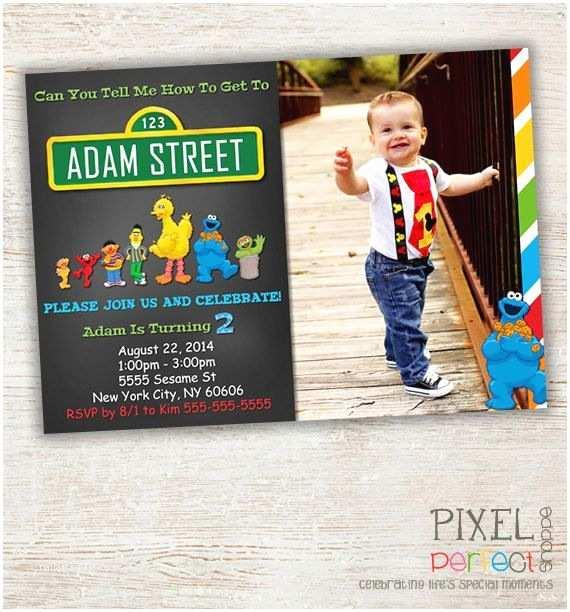 Street Party Invitations  Street Invitation  Street Birthday