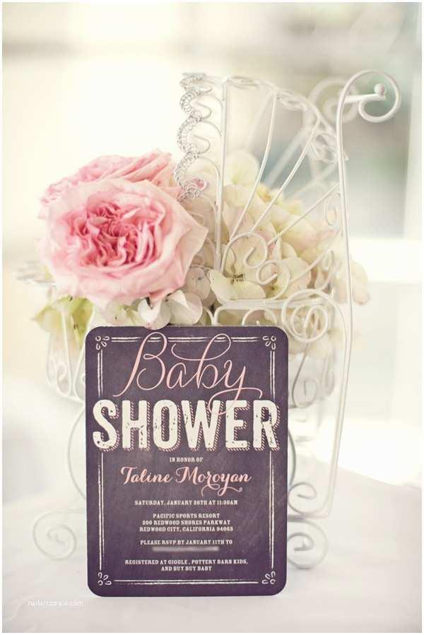 Shabby Chic Baby Shower Invitations Shabby Chic Little Bir themed Baby Shower Hostess