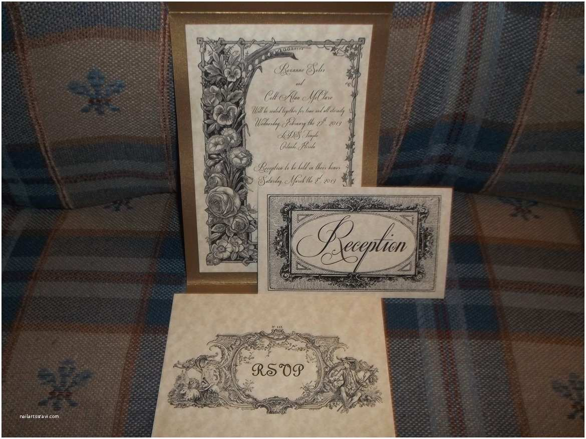 Shabby Chic Wedding Invitations Beautiful Wedding Invitations You Can Make Yourself
