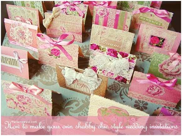 Shabby Chic Wedding Invitations How to Create Your Own Shabby Chic Style Wedding