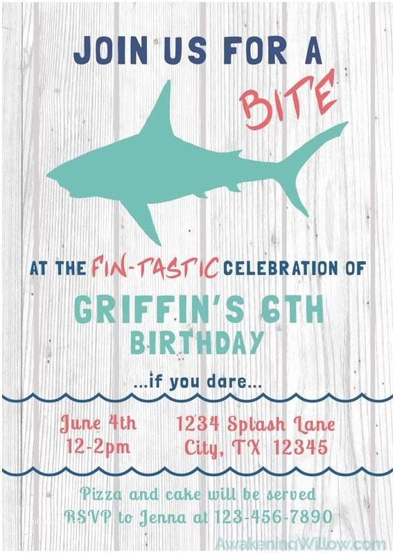 Shark Birthday Party Invitations top 25 Best Shark Games Ideas On Pinterest