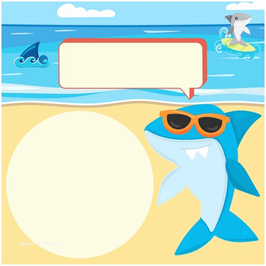 Shark Party Invitations Shark Printables Free Planners Game Cards and Invitation