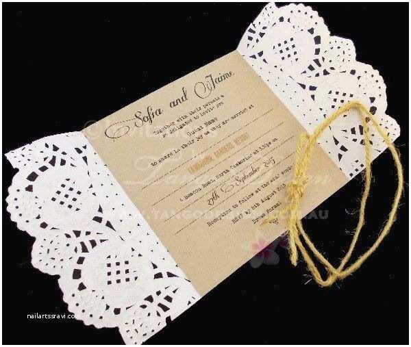 Sheer Paper Wedding Invitations Paper Lace Desgin X 1 Wedding Invitation Sample Rustic