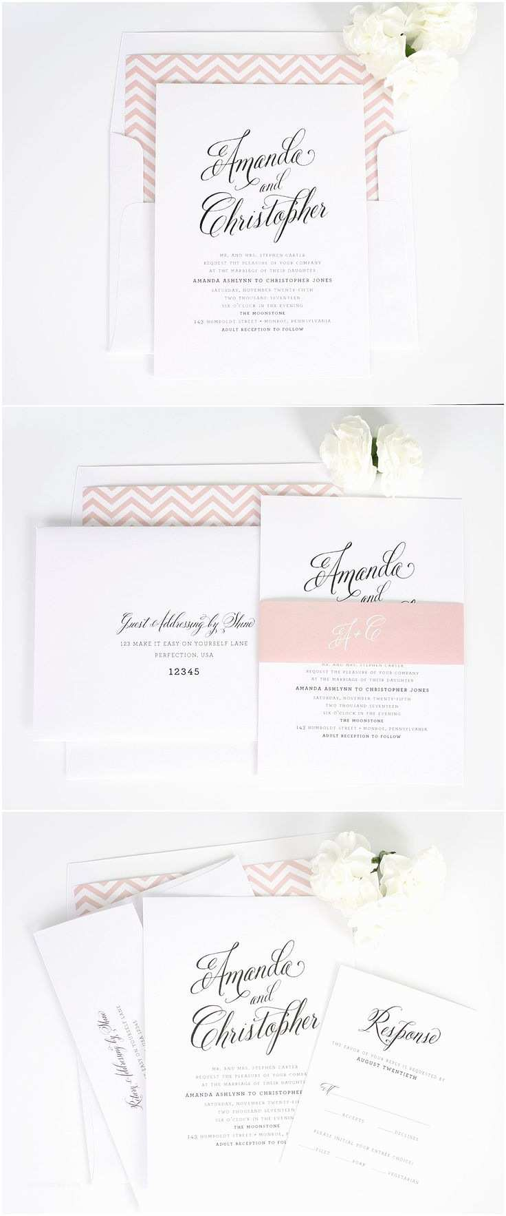Shine Wedding Invitations 1000 Ideas About Modern Wedding Invitations On Pinterest