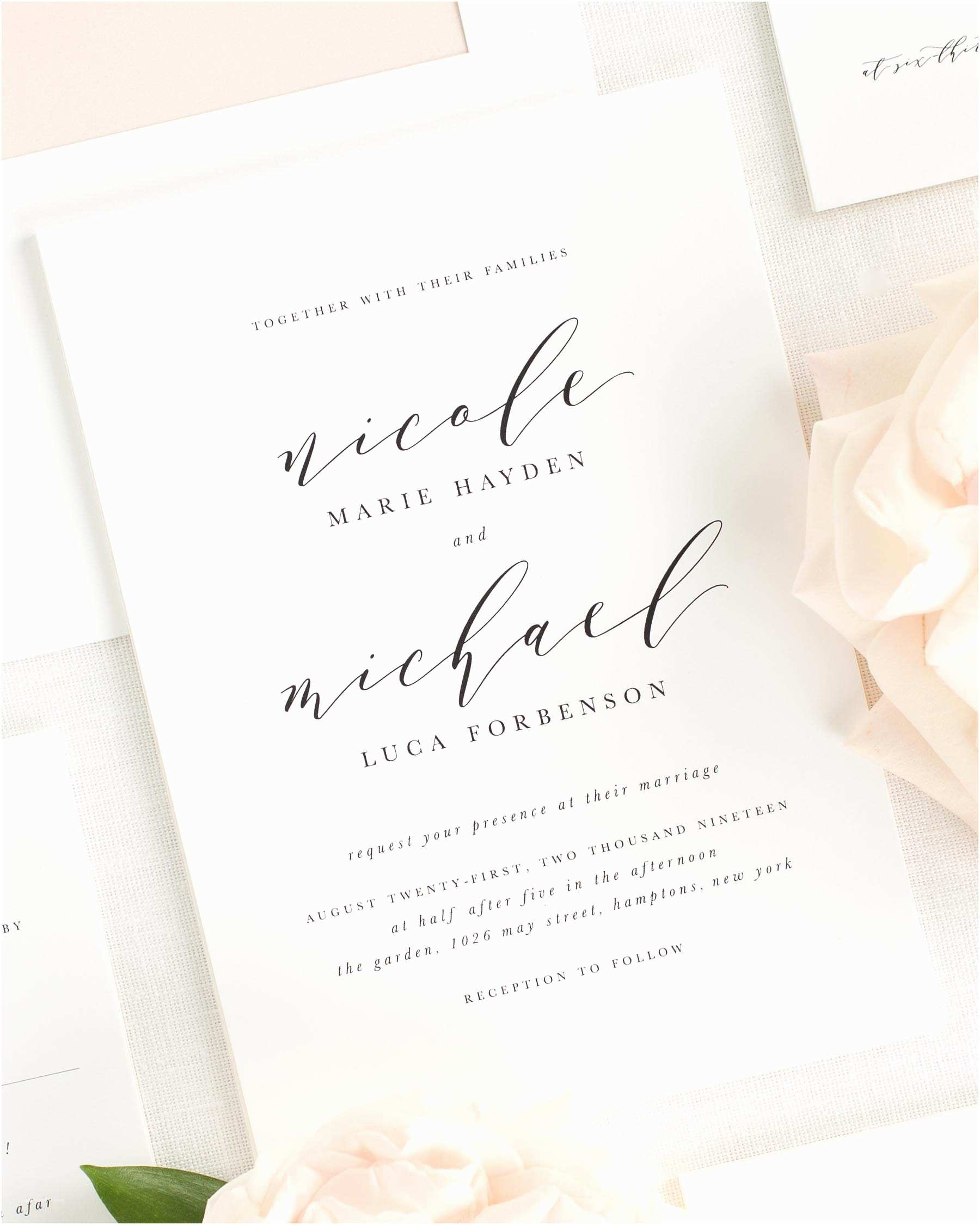 Shine Wedding Invitations 2018 Wedding Invitations