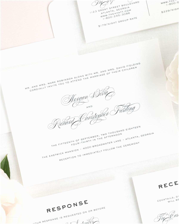 Shine Wedding Invitations Classic Vintage Wedding Invitations Wedding Invitations