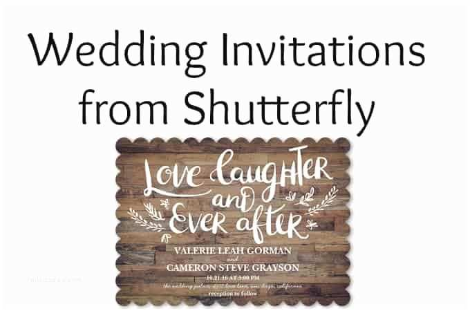 Shutterfly Wedding Invitations Wedding Invitations From Shutterfly