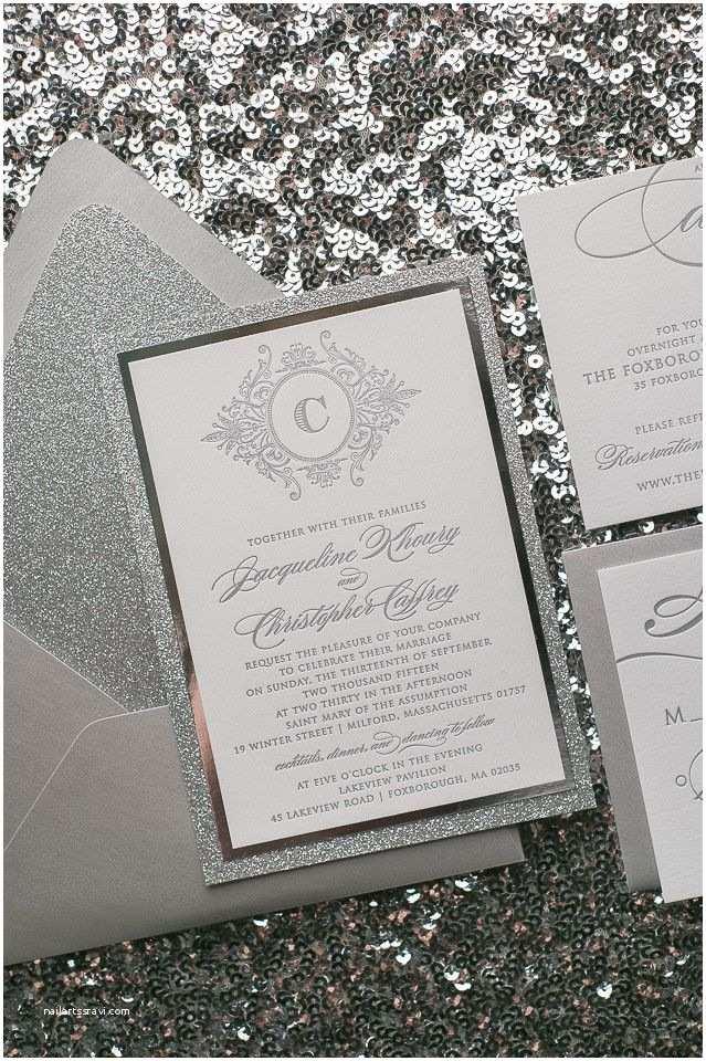 Silver Wedding Invitations Best 25 Black Silver Wedding Ideas On Pinterest