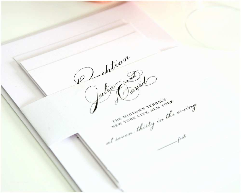 Simple Elegant Wedding Invitations Elegant Simple Wedding Invitation Designs Weddi and