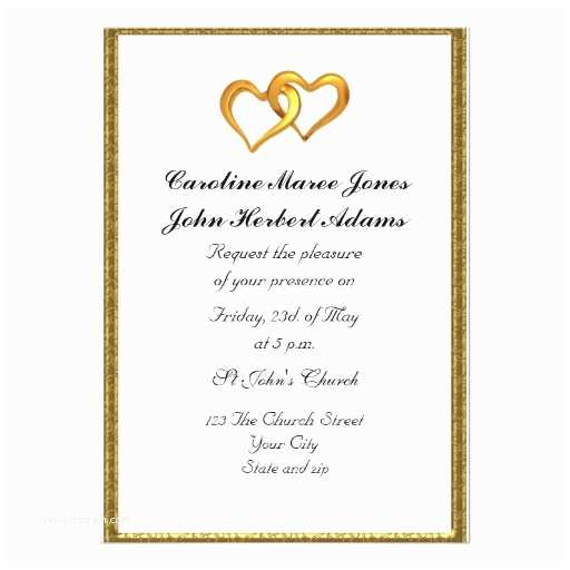 Simple Elegant Wedding Invitations Elegant Simple Wedding Invitation White