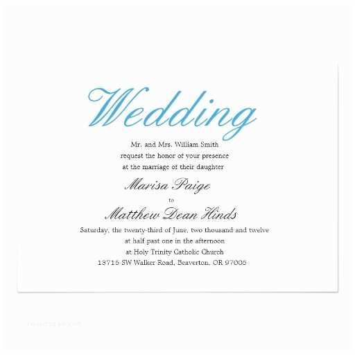 Simple Elegant Wedding Invitations Simple and Elegant Wedding Invitation