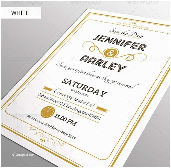 Simple Elegant Wedding Invitations Simple Elegant Wedding Invitation Templates Yaseen for