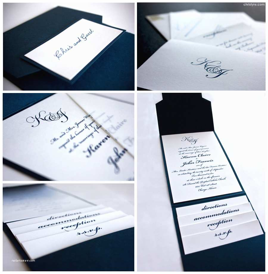 Simple Elegant Wedding Invitations Simple yet Elegant Wedding Invitation