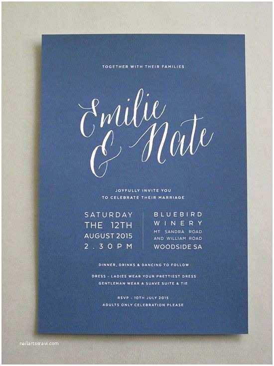 Simple Wedding Invitation Designs Best 25 Simple Wedding Invitations Ideas On Pinterest
