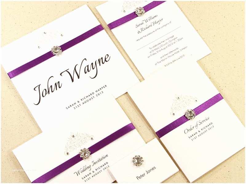 Simple Wedding Invitation Designs Ideas
