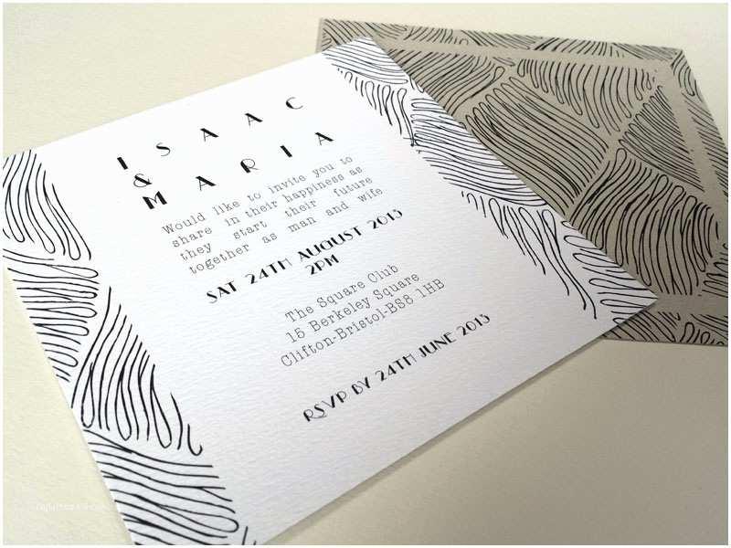 Simple Wedding Invitation Designs Minimalist Wedding Invitation Designs