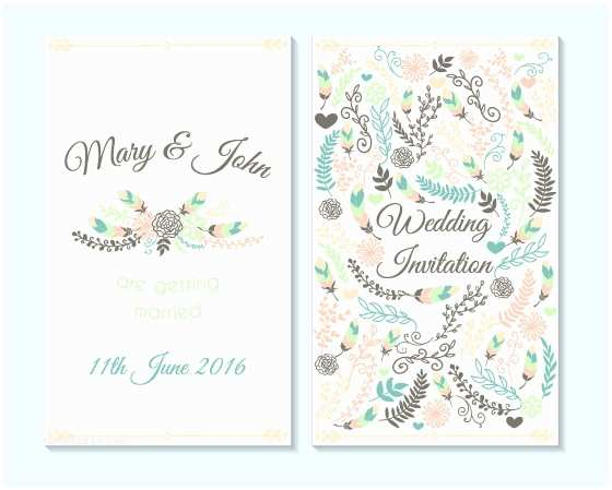 Simple Wedding Invitation Designs Simple Wedding Invitation Cards Template Matik for