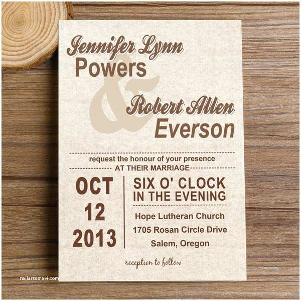 Simple Wedding Invitations Neutral Modern Simple Wedding Invites Iwi250 Wedding