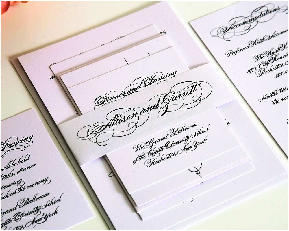 Simple Wedding Invitations Simple Elegant Wedding Invitations — Criolla Brithday