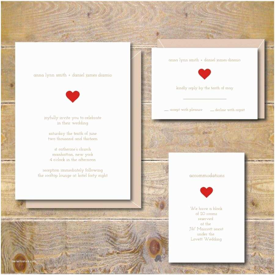 Simple Wedding Invitations Simple Wedding Invitations Rustic Wedding Invitations