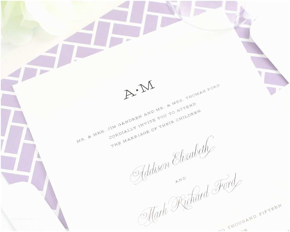 Simple Wedding Invitations Simple Wedding Invitations Yaseen for