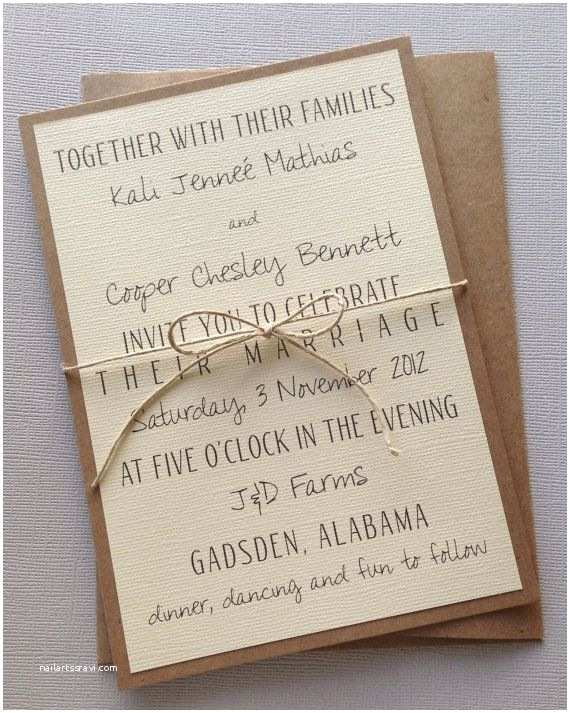 Simple Wedding Invitations Wedding Invitation Design & Ideas