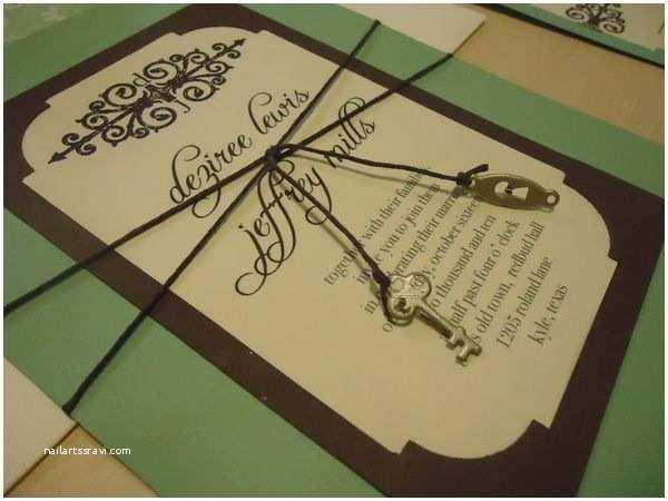 Skeleton Key Wedding Invitations 17 Best Images About Key Wedding Invitation On