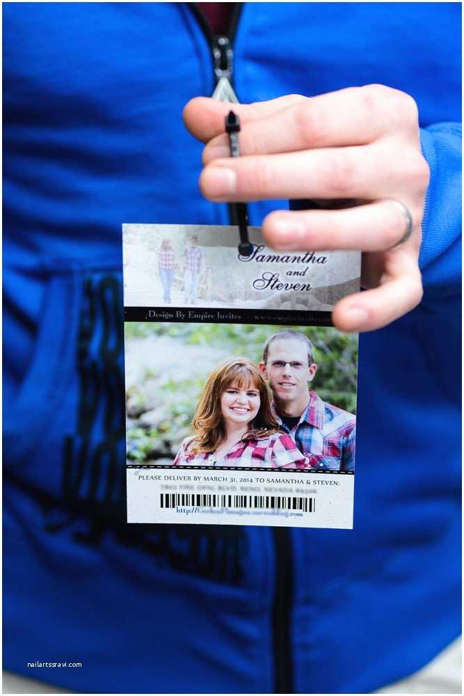 Ski Pass Wedding Invitations Ski Pass Lift Ticket Wedding Invitations to Lakeview