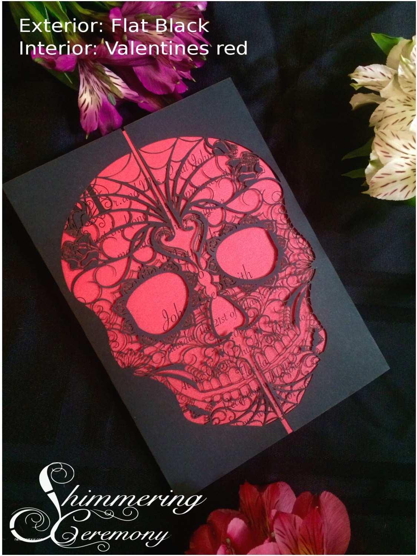 Skull Wedding S Day Of The Dead Skull Laser Cut Wedding