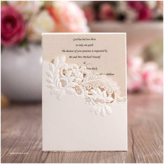 Small Wedding Invitation Cards Pocket Design Laser Cut Small Wedding Invitation Card