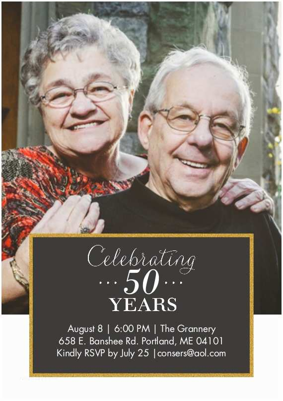 Snapfish Wedding Invitations Snapfish 50th Anniversary Invitations Custom Printing Deals