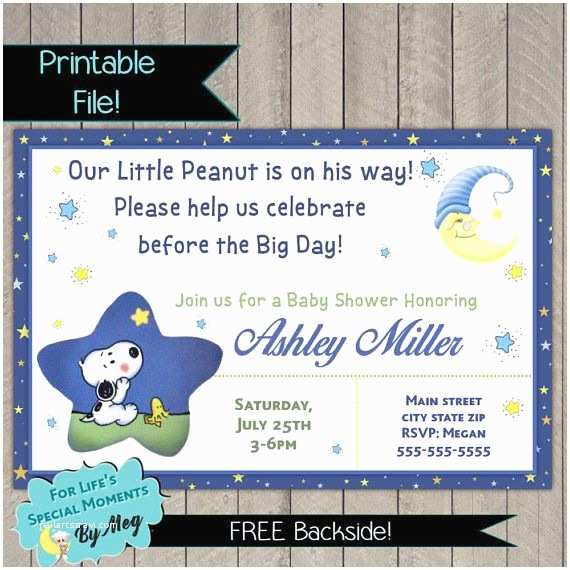 Snoopy Baby Shower Invitations Best 25 Snoopy Baby Showers Ideas On Pinterest