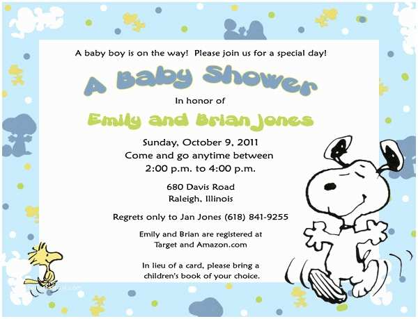 Snoopy Baby Shower Invitations Items Similar to Snoopy Baby Snoopy Invitations Many