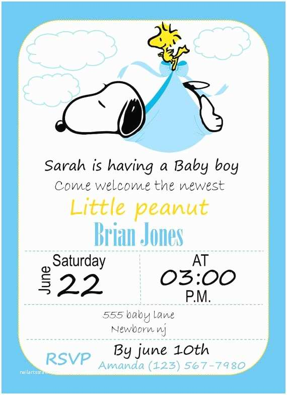 Snoopy Baby Shower Invitations the 25 Best Snoopy Baby Showers Ideas On Pinterest