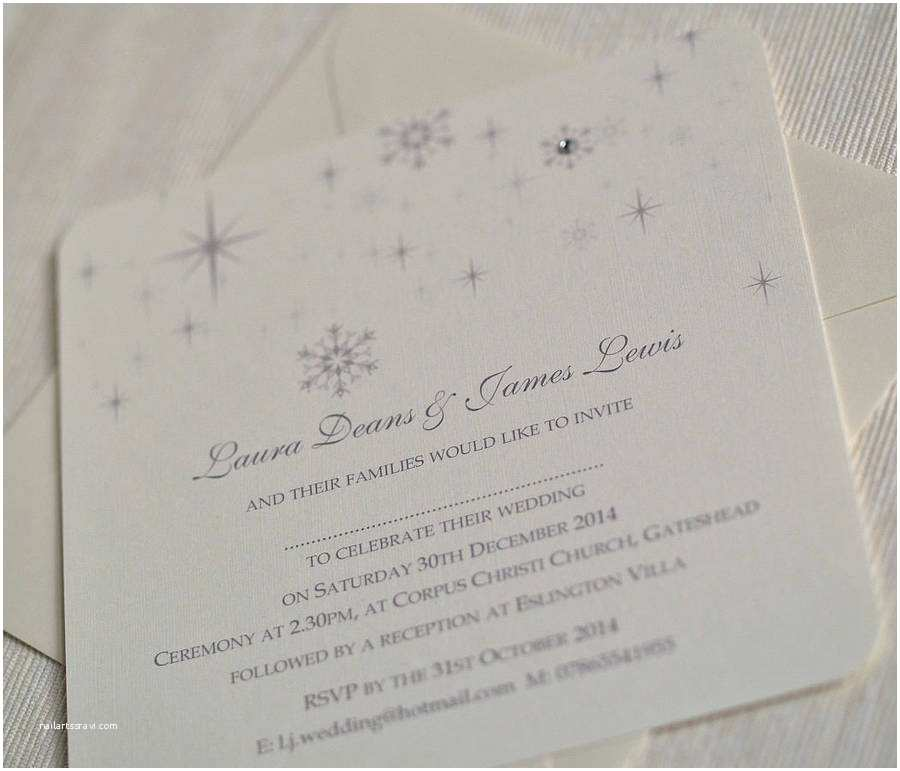 Snowflake Wedding Invitations Snowflake Winter themed Wedding Invitations by Beautiful
