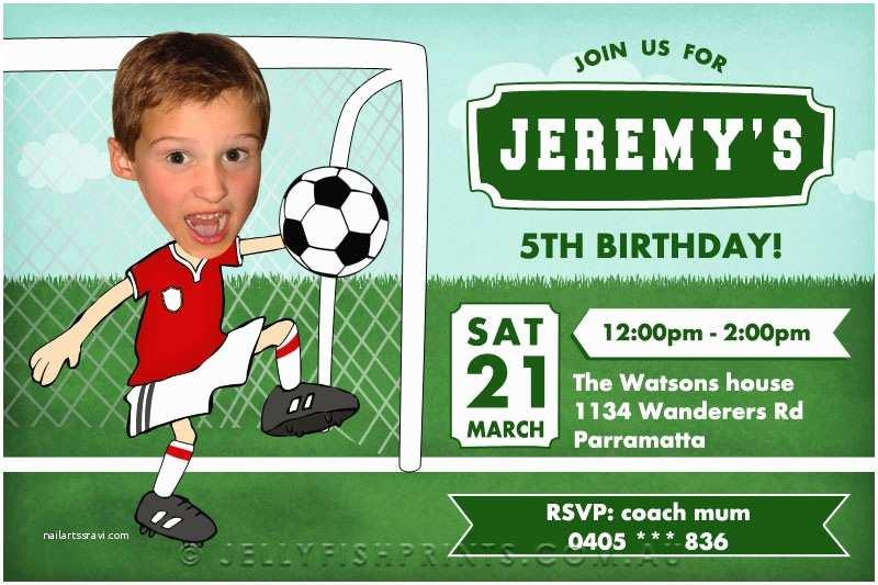 Soccer Birthday Invitations 8 Best Of soccer Birthday Invitations Printable