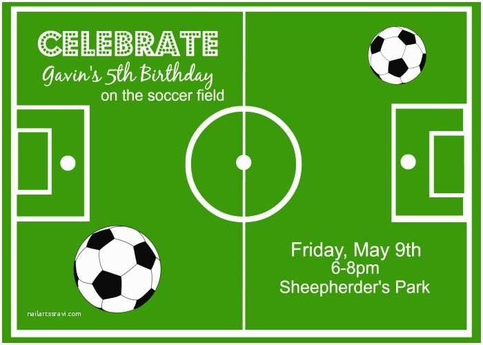 Soccer Birthday Invitations soccer theme Party Ideas Around My Family Table